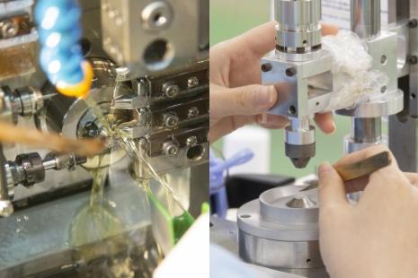 高度な加工・測定技術で、国内外のお取引先から選ばれています。